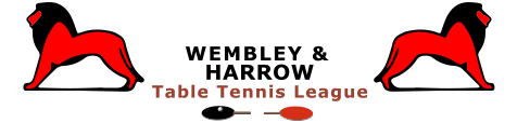 Wembley & Harrow Table Tennis League logo