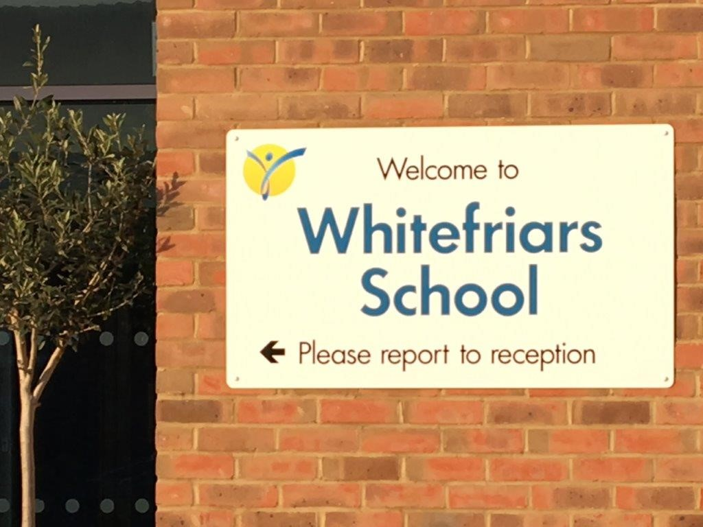 Whitefriars sign